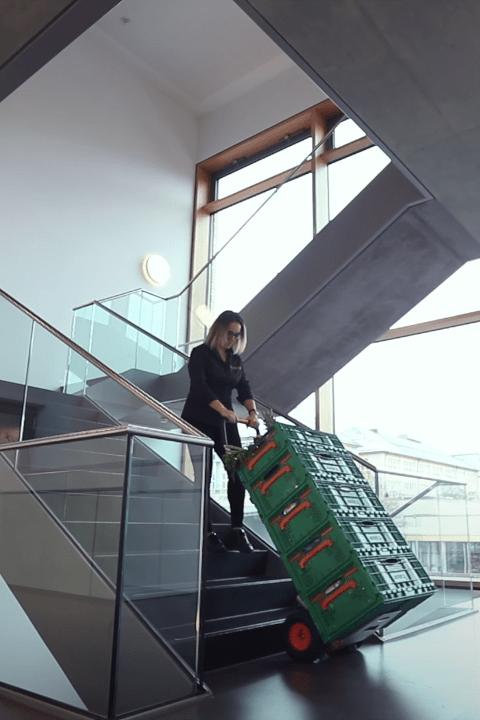 CargoMaster Sube-escaleras Eléctrica C120