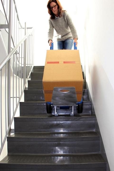 CargoMaster Sube-escaleras Eléctrica CC160 Capacidad de carga 160 kg entre 9 y 22 escalones por minuto