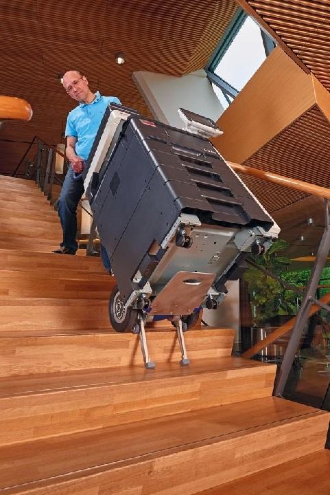 CargoMaster Sube-escaleras Eléctrica CC160 Capacidad de carga 160 kg mercancía pesada y voluminosa