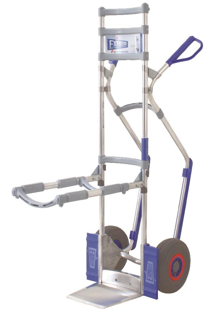 Carretilla EXPRESSO Transporta Sillas Carretilla Manual 'favorita' o 'ergonómica' con accesorio transporta sillas