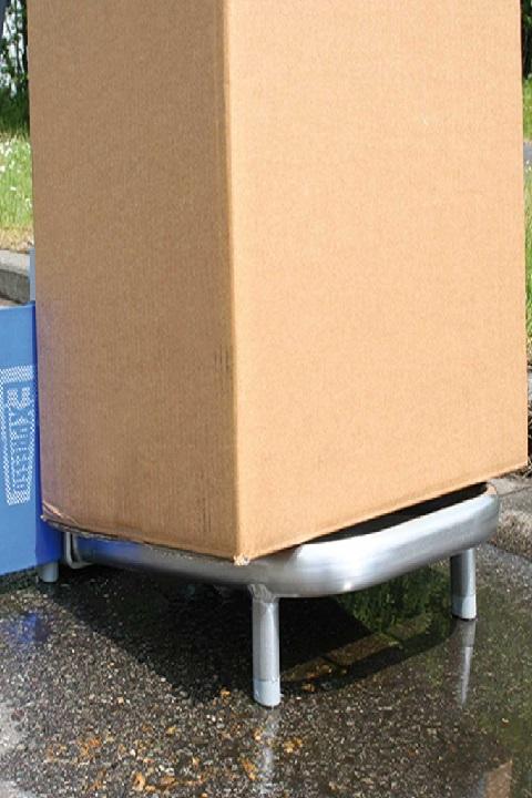 Carretilla Manual EXPRESSO Mercancías Congelados o Frágiles protección contra el desgaste o las superficies húmedas