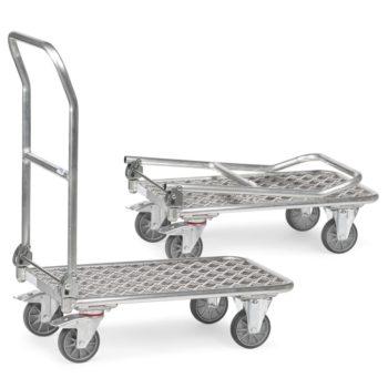 Carro Plataforma de Carga Aluminio Plegable - 600 kg Sitramo's Carretillas