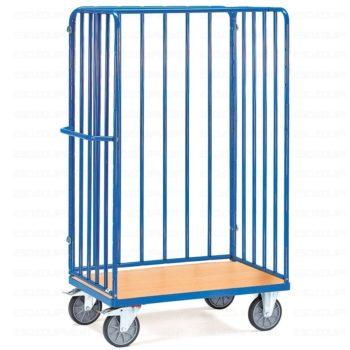 Carro Plataforma de Carga - Jaula Alta Sin Puertas - 600 kg