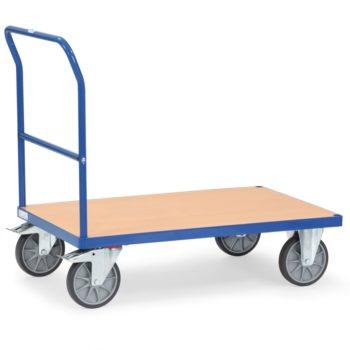 Carro Plataforma de Carga con mango de empuje - 600 kg - Sitramo's Carretillas