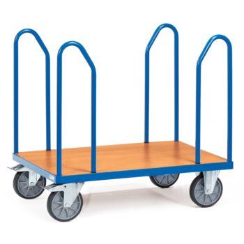 Carro plataforma de carga 600 kg para tablones - Sitramo's Carretillas