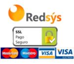 Redsys pago seguro SSL Verificado