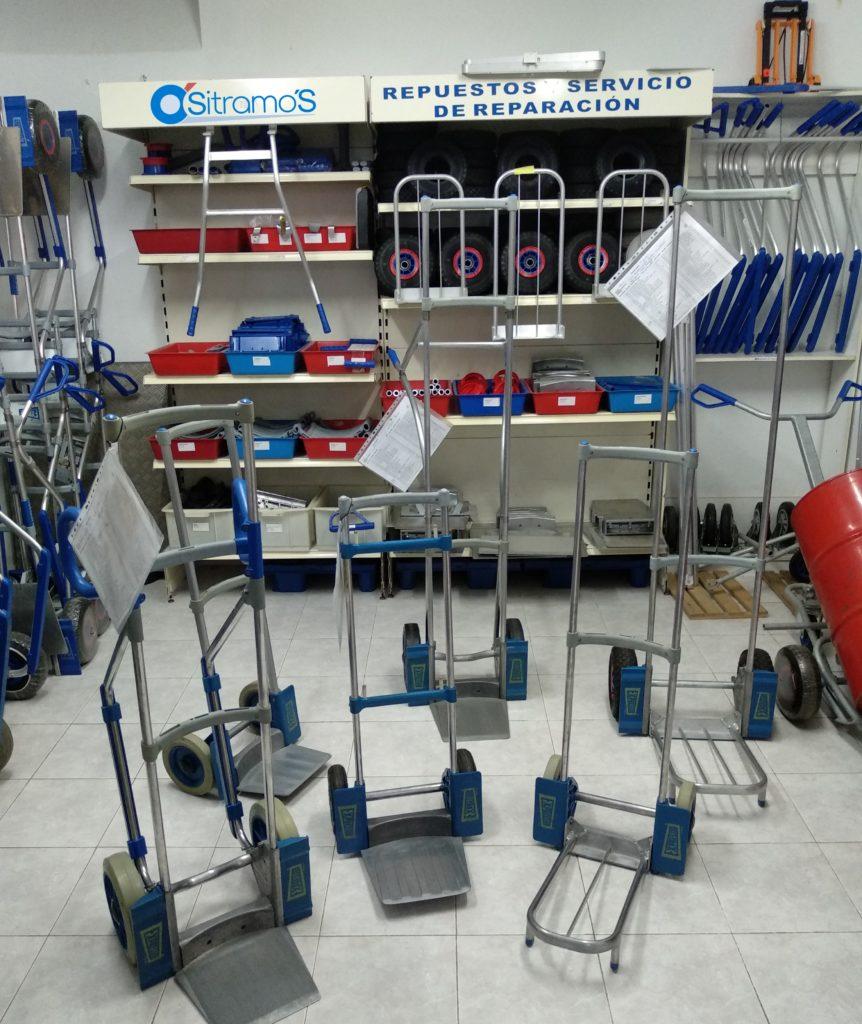 Repuestos y servicio de reparacion - Sitramos Carretillas