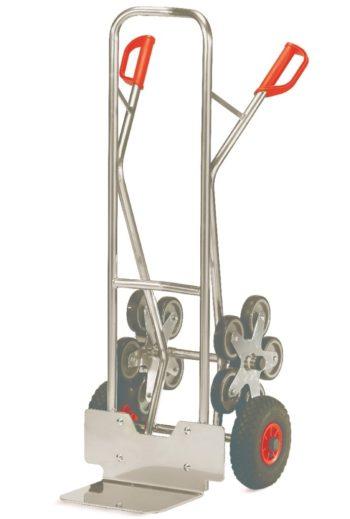 Carretilla Sube-escaleras Manual de Aluminio - Capacidad de caraga de 200 kg - Sitramo's Carretillas