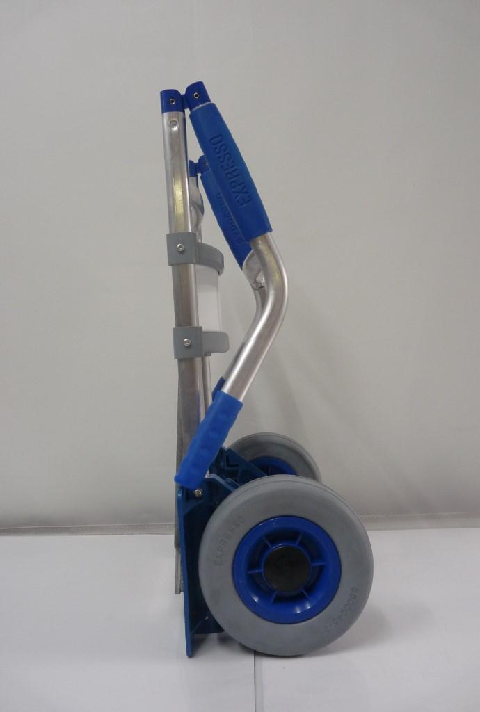 Sitramos Carretilla EXPRESSO Plegable - Carretilla Manual Aluminio Ruedas Airelastic