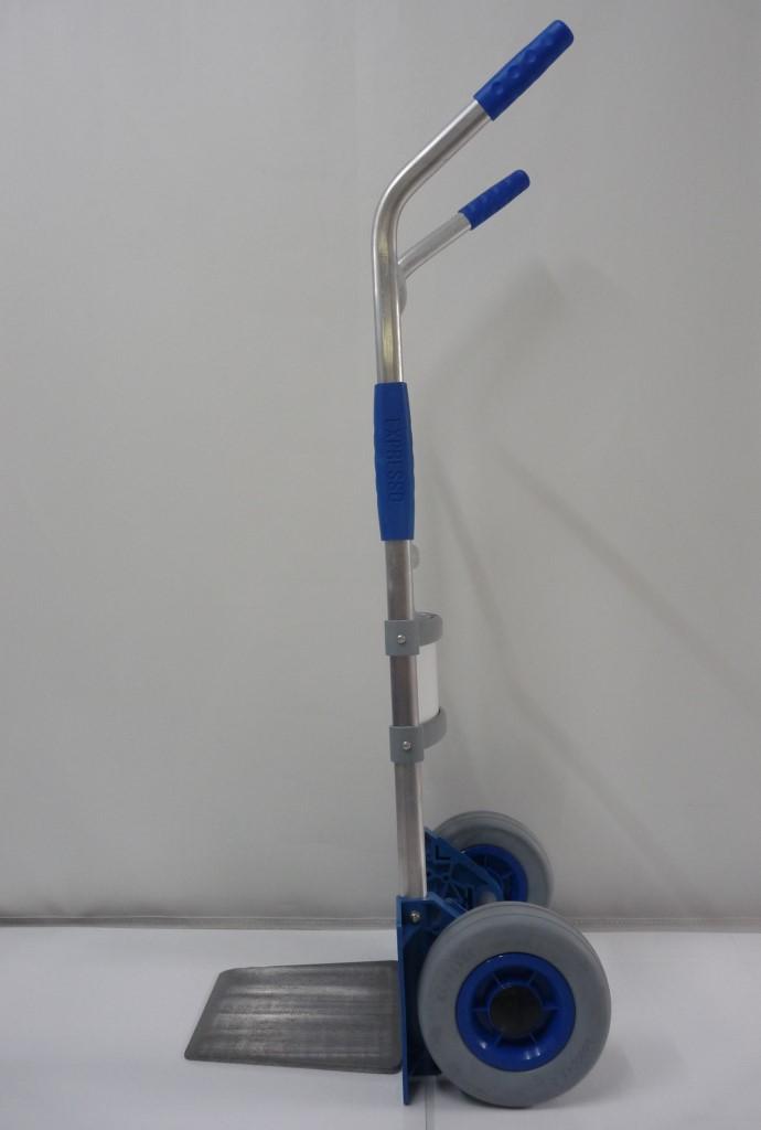 Sitramos Carretilla Plegable EXPRESSO - Carretilla Manual Aluminio Ruedas Airelastic Pala Pequeña