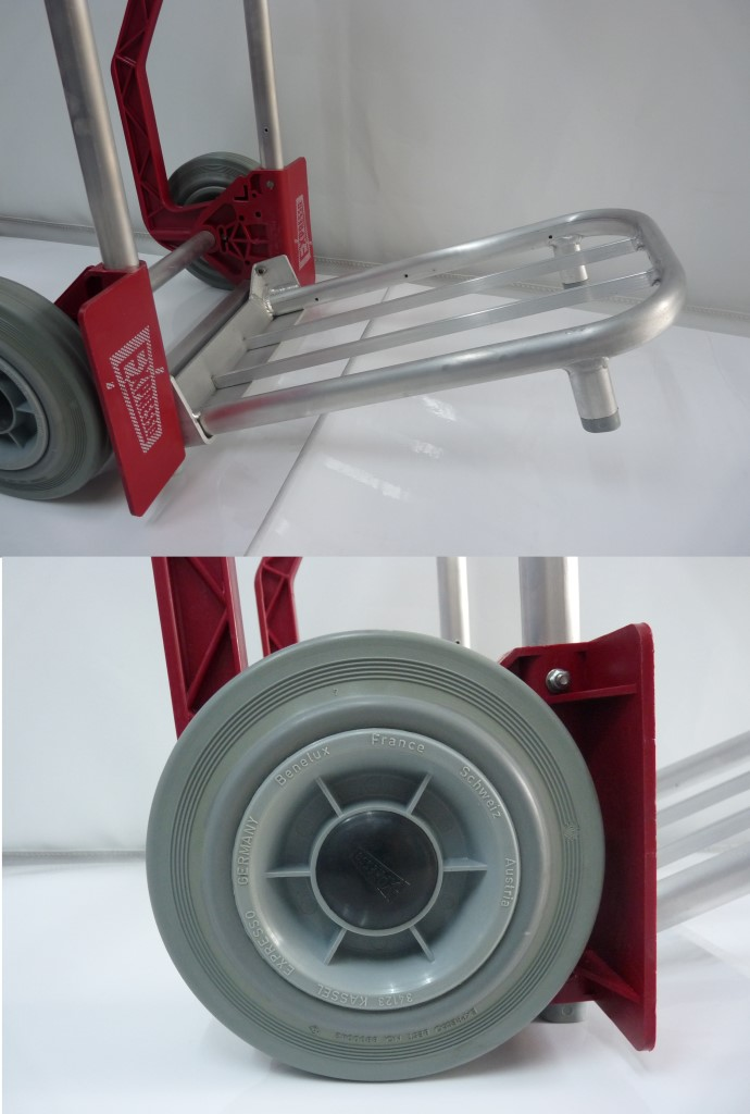 Sitramos Carretillas - EXPRESSO Carretilla 150 kg Roja - Pala Tubular Ruedas Airlastic